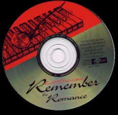 Remember the Romance CD Design